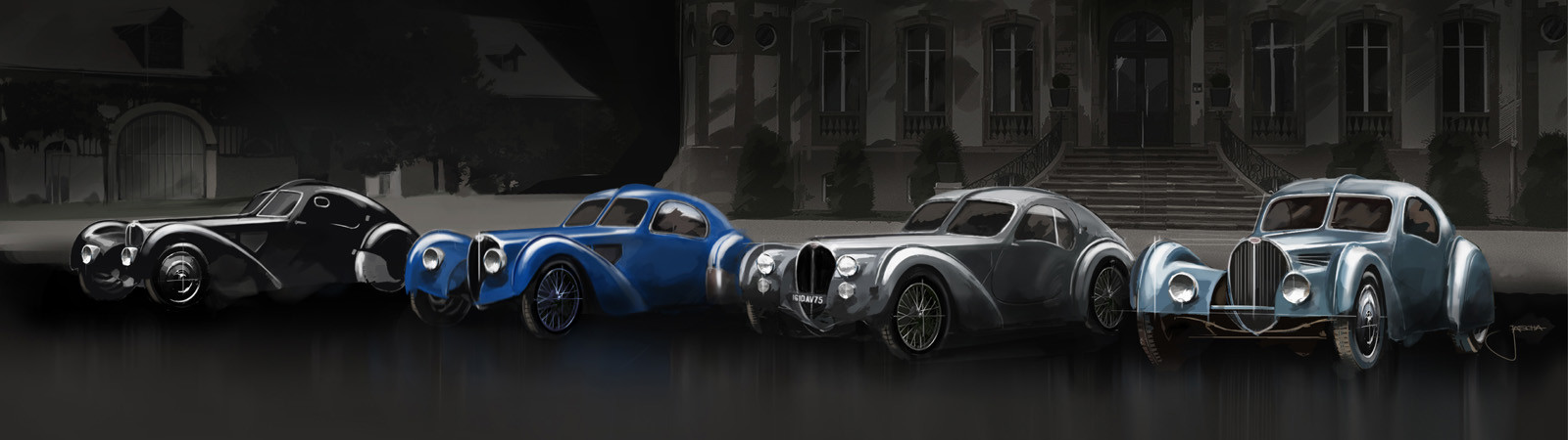 Foto de Bugatti Type 57 Atlantic La Voiture Noire (12/12)