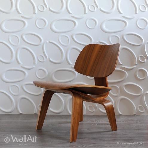 Murales 3D para la pared fabricados con caña de azúcar
