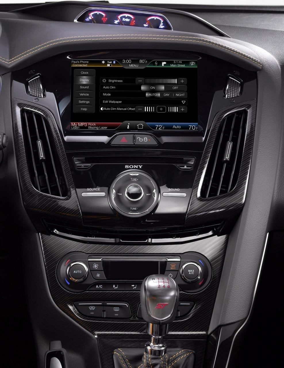 Foto de Ford Sync y MyFordTouch, el nuevo interfaz de Ford para coches (15/23)