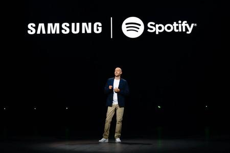 Spotify encuentra su iPhone en Samsung