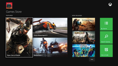 Xbox One Dashboard Oficial 01