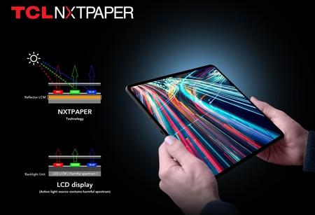 TCL prepara una alternativa al papel electrónico: a todo color, 36% más fino y 65% más eficiente que las pantallas LCD