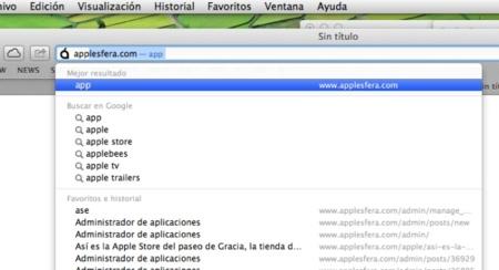 Utiliza prefijos de direcciones en Safari 6 gracias a su nueva barra universal