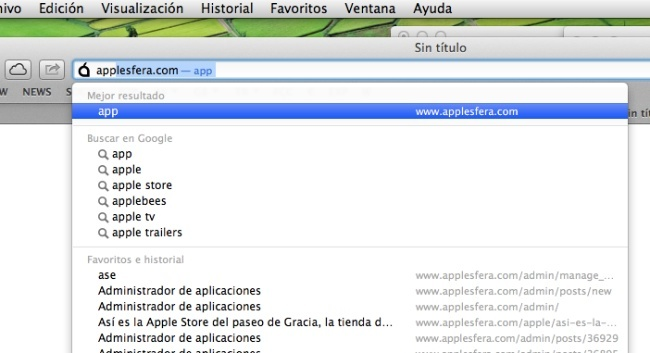 safari 6 prefijos direcciones mountain lion mac os x