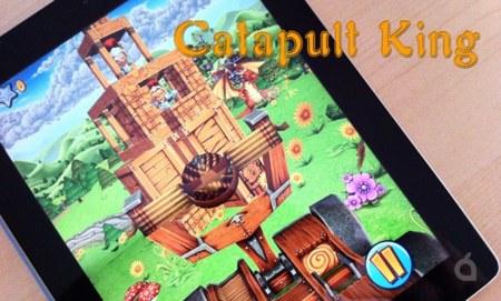 Catapult King, derriba castillos y enemigos con tu catapulta y rescata a la princesa