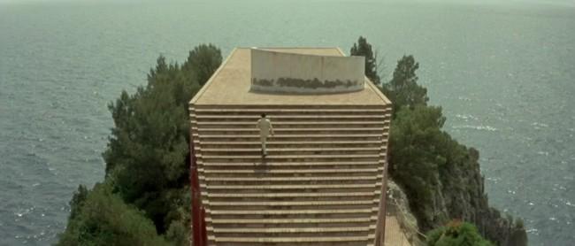 Jean Luc Godard Film Le Mepris Escalier Mer 2
