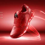 Lenovo registra tu actividad física directamente desde las zapatillas, no faltan las luces ni la carga inalámbrica