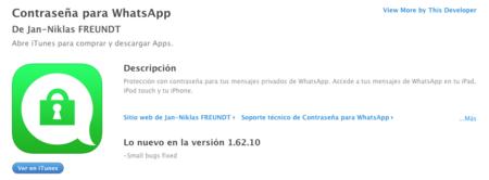 Contrasena Whatsapp Ios