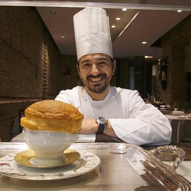 Mario Vallés: exjudoka olímpico, colombiano y chef de Hortensio, uno de los mejores restaurantes de cocina clásica de Madrid