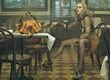 Más imágenes de Madonna para Louis Vuitton