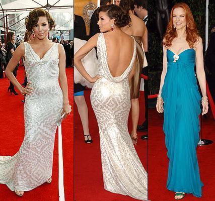 Concretamente, la actriz de Snow Angels optó por un vestido largo de color amarillo de Luisa Beccaria. Ashley Tisdale, en cambio,