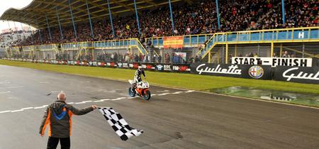 Supersport Holanda 2012: Lorenzo Lanzi, debutar y ganar