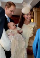 Absolutamente radiante: así lució Kate Middleton en el bautizo de su hijo, el principie George