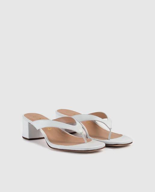 Sandalias de piel de Unisa