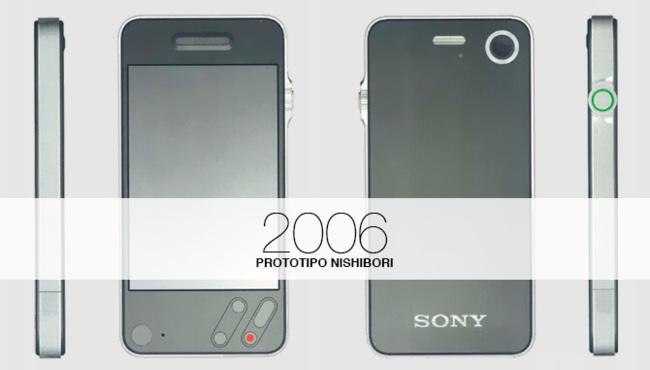Prototipo de iPhone de Shin Nishibori