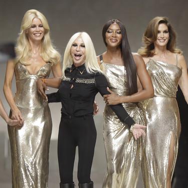 Donatella Versace afirma haberse cansado de las pieles, augurando una nueva era para la firma italiana