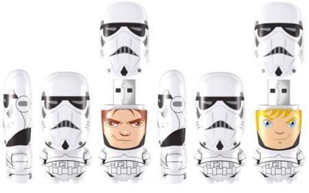 Mimobot de Han Solo y Luke Skywalker