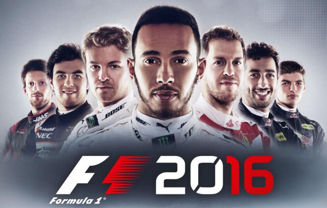 F1 2016 Art