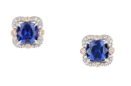 Ella Sapphire Earrings