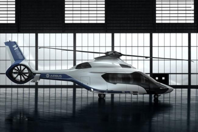 H160 Airbus Peugeot Design Lab