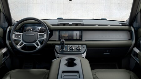 Land Rover Defender Hibrido Enchufable Interior