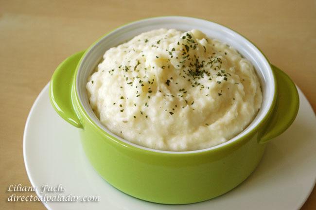 Puré cremoso de patatas y nabo