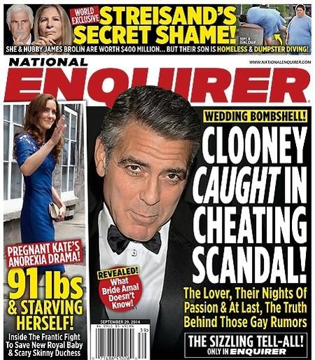 Menudo golferas señor Clooney