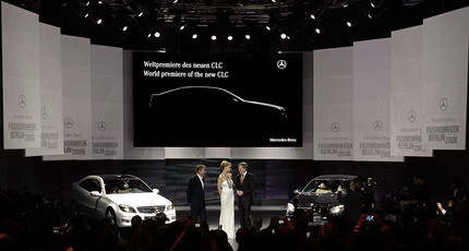 Presentación del Mercedes CLC en la Semana de la Moda de Berlín