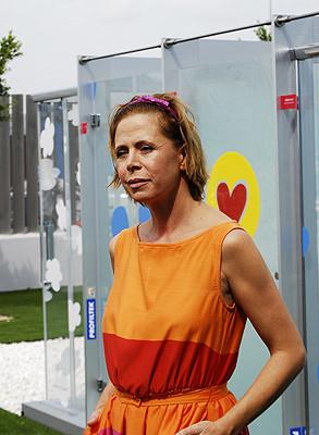 Mamparas de baño por Ágatha Ruiz de la Prada
