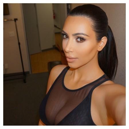 Definitivamente, nunca dejaría que Kim Kardashian me maquillase