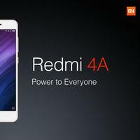 Xiaomi Redmi 4A de 32GB, en versión global, por 99,99 euros y envío gratis desde España