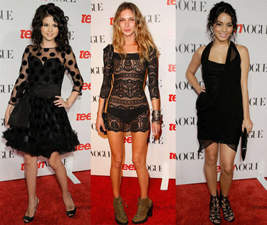 La fiesta de Teen Vogue Young Hollywood 2008