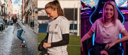 """Cómo es ser futbolista, gamer, skater o aviadora en un """"mundo de hombres"""": Women'secret y Amazon Prime lo muestran en un documental por el 8M"""