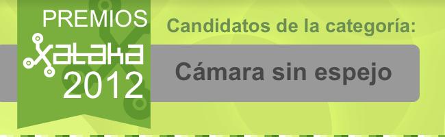 candidatos mejor cámara sin espejo
