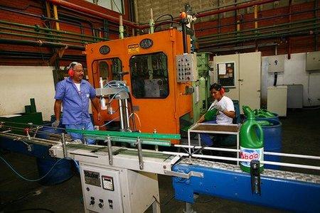 La industria española continua rezagada