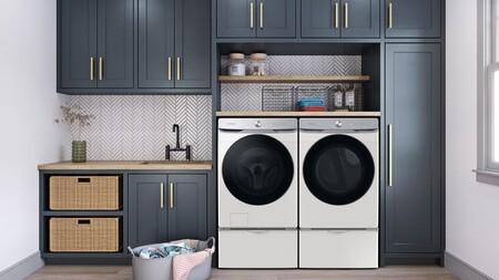 Samsung presenta sus nuevas lavadoras y secadoras Smart Dial que llegarán con un diseño más decorativo, IA y conexión con el móvil