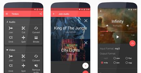 Timbre es la aplicación más sencilla para editar audio y vídeo en Android