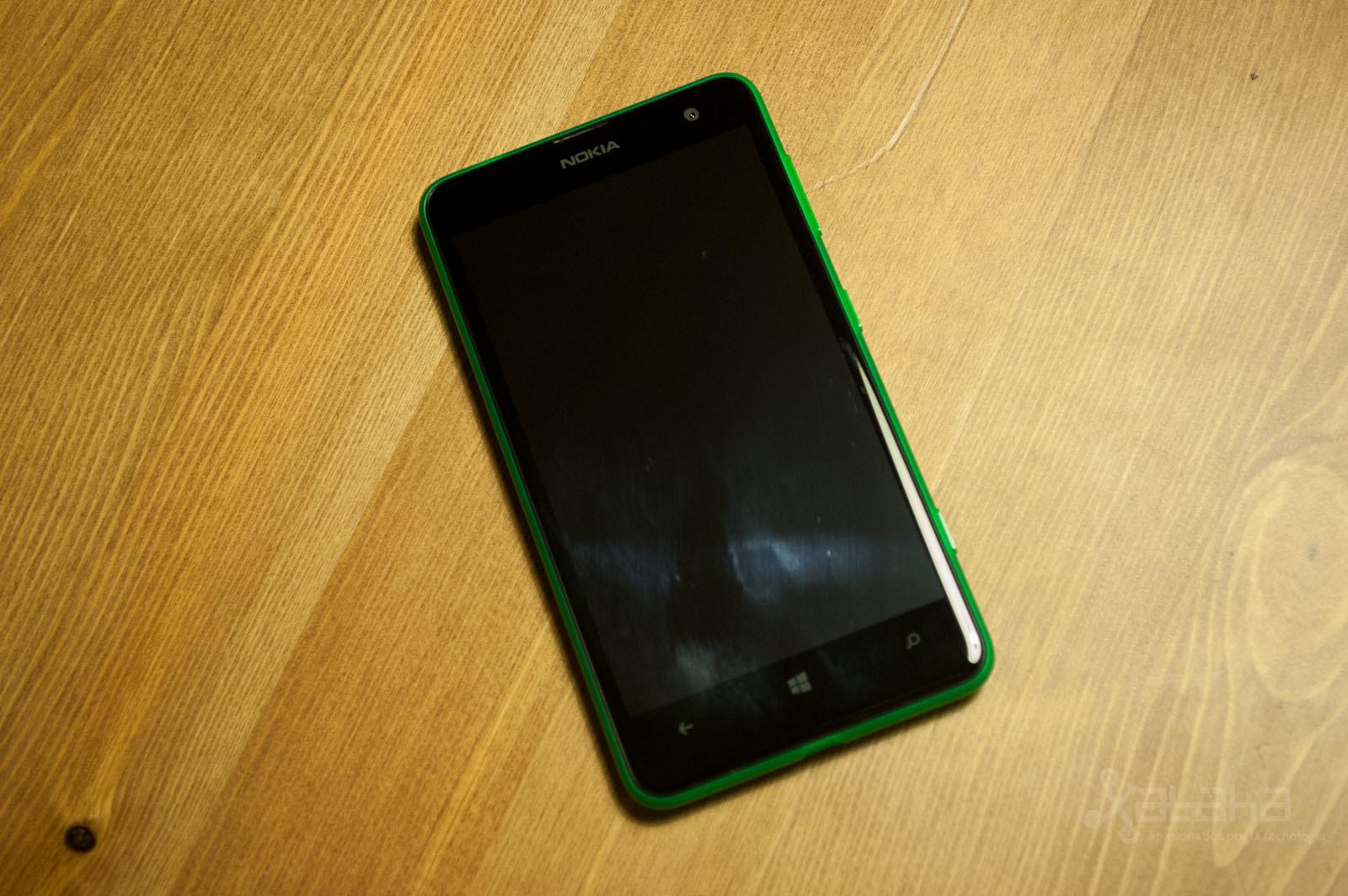Foto de Nokia Lumia 625, análisis (10/10)