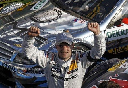 Jamie Green vence la última carrera en Hockenheim. Miguel Molina, tercero