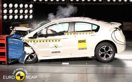 Opel Ampera: cinco estrellas Euro NCAP