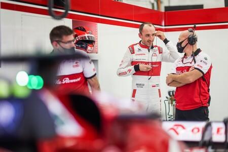 Kubica Abu Dabi F1 2020