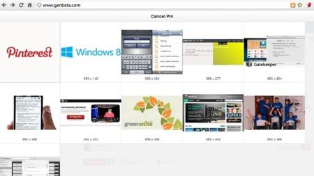 Pin it!: el bookmarklet en un botón con atajo de teclado