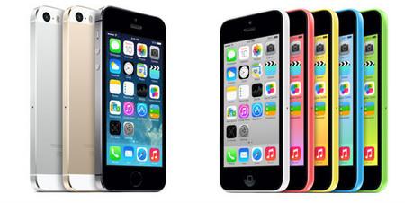 iPhone 5s y iPhone 5c llegarán a Mexico el 1 de Noviembre