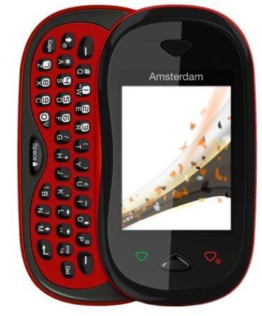 Orange Amsterdam, el teléfono con teclado deslizante para las redes sociales