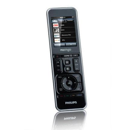 Philips Prestigo SRT9320, mando a distancia con pantalla táctil