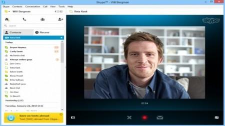 Los videomensajes grabados de Skype llegan a Windows