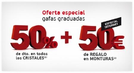 9a044da7ed 50 euros de descuento en tu montura y paga un 50% menos por los cristales  en General Optica