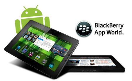 BlackBerry PlayBook no emulará Android hasta finales de otoño
