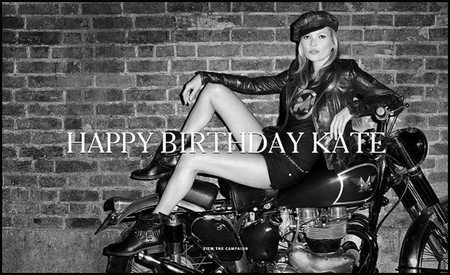 Kate Moss, l'enfant terrible de la moda, cumple 40 años, Happy Birthday Kate!!