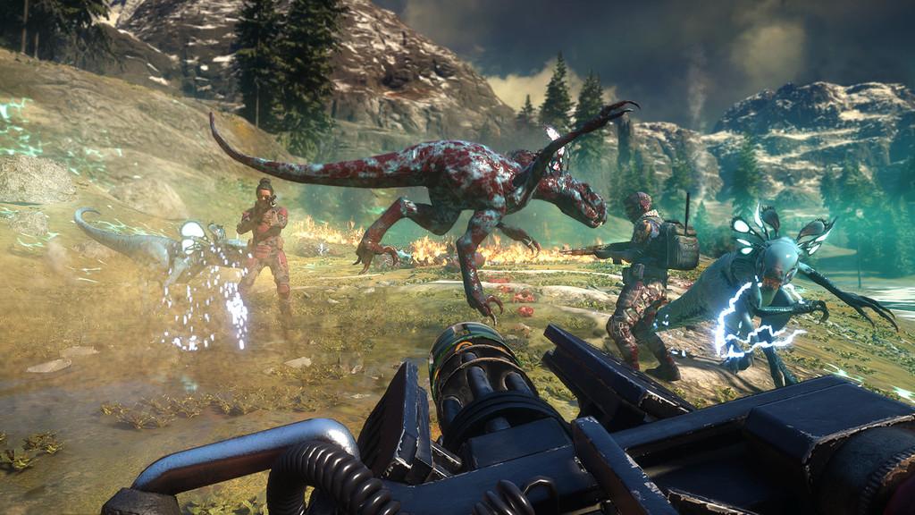 En septiembre podremos acabar con los dinosaurios de Second Extinction cuando se lance en Steam Early Access